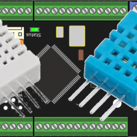 Temperatursensoren DHT11 und DHT22 an PoKeys