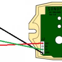 Temperatursensor DHT22/AM2301 an Sonoff anschließen